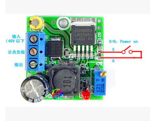 Free Shipping!!! 5pcs Chip-level / high efficiency buck circuit / multi-turn precision a ...