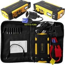 Высокая Ёмкость 16000 мАч автомобиля Пусковые устройства 4USB Запасные Аккумуляторы для телефонов Компасы 12 В пусковое устройство автомобиля Зарядное устройство для автомобиля Батарея Booster Buster