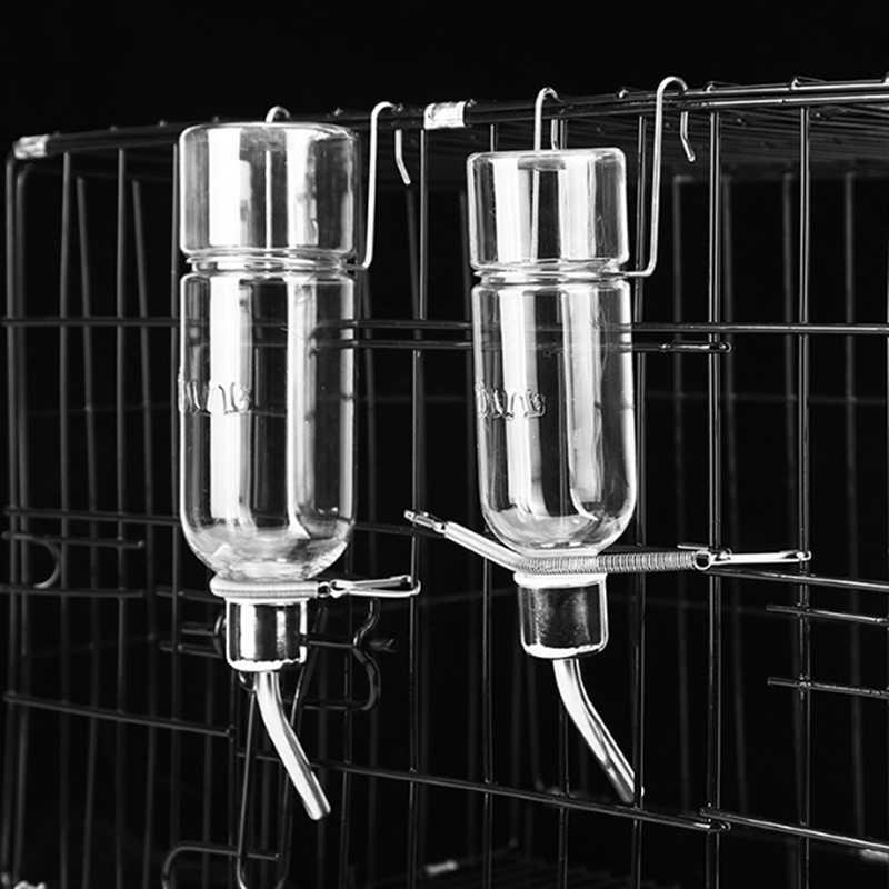 Tự Động Uống Đầu Ống Đài Phun Nước Ăn Thú Cưng Treo Waterer Thú Cưng Giá Đựng Bình Nước Đựng Treo Mèo Cưng Tô Cho Chó