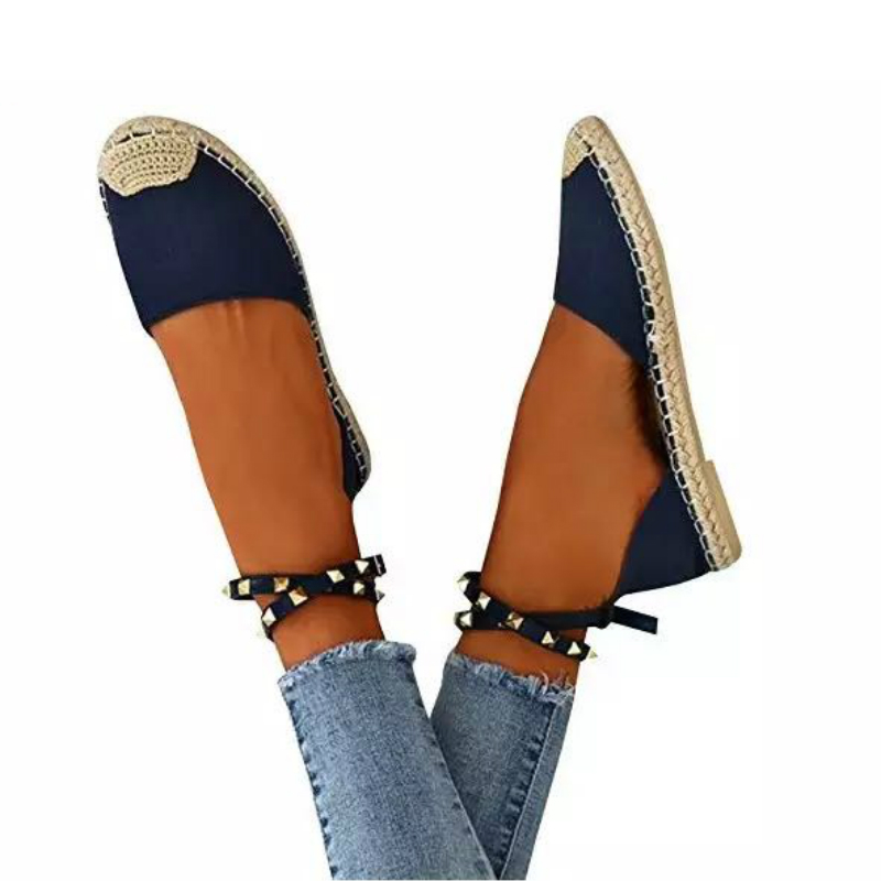 2018 New Woman Shoes Fisherman Hemp Rope Flat Platform Loafers Women Gladiator Sexy Casual Fashion Luxury Europe Brand Design in Women 39 s Flats from Shoes