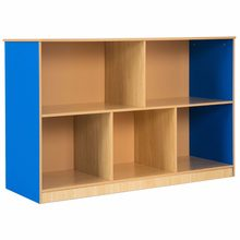 5 Compartment Storage Cabinet Bookcase Shelf Rack Organizer Kids Toy Box Modern Living Room Furniture HW59598(China)