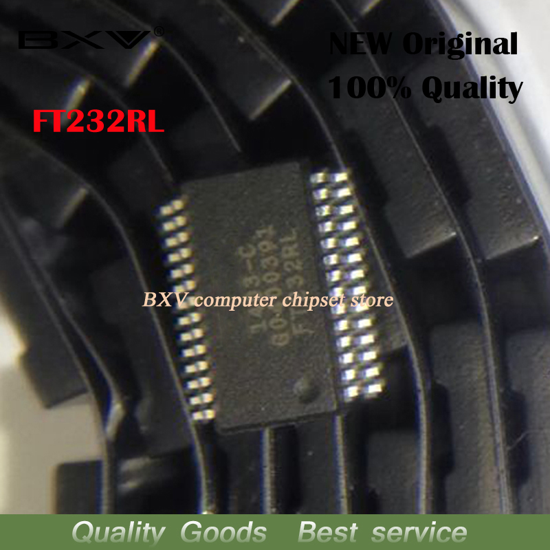 10pcs/lot FT232RL FT232  SSOP28 new original-in Integrated Circuits from Electronic Components & Supplies