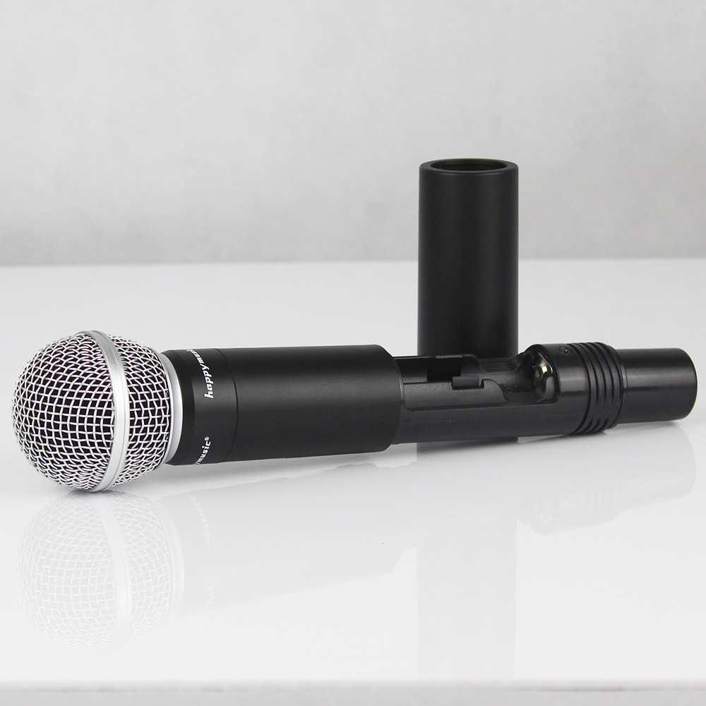 Image 5 - New High Quality UHF Professional SU 10 Dual Wireless Microphone System stage performances a two wireless microphone-in Microphones from Consumer Electronics