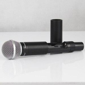 Image 5 - Nuovo di Alta Qualità UHF Professionale SU 10 Doppio Microfono Senza Fili Sistema di spettacoli teatrali a due microfono senza fili