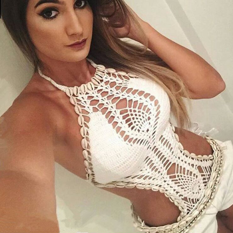 2017 sexy <font><b>one</b></font> <font><b>one</b></font> <font><b>piece</b></font> swimwear crochet <font><b>one</b></font> <font><b>piece</b></font> <font><b>swimsuit</b></font> <font><b>black</b></font> bathing suit <font><b>halter</b></font> women monokini high swimming bathing suit