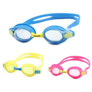 Nowe dzieci okulary pływackie Anti-Fog profesjonalne sportowe okulary pływackie do wody okulary pływackie wodoodporna dla dzieci pływanie okulary hurtowych tanie i dobre opinie Pływać Octan Chłopcy 3 5cm Z poliwęglanu Niebieski GL0133 LOYOL YELLOW