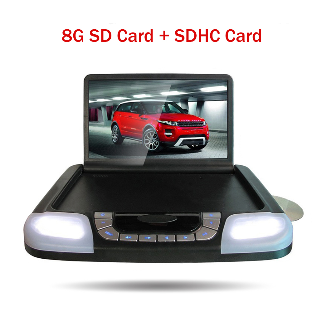 14,1 дюймов HD ЖК дисплей крыши автомобиля монитор DVD плеер CD MP3 USB SD fm передатчик игры сенсорный кнопку Авто потолок монитор Экран Дисплей