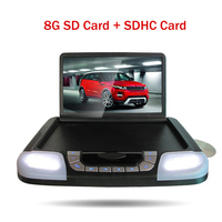 14.1 inch HD LCD Car Roof Monitor DVD Player CD MP3 USB SD FM Transmitter Game Touch Button Auto Ceiling Monitor Screen Display