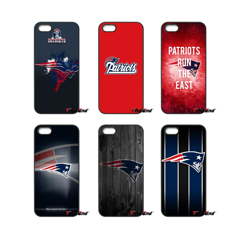 online store f881d 9010f US $4.98 |For iPod Touch iPhone 4 4S 5 5S 5C SE 6 6S 7 Plus Samung Galaxy  A3 A5 J3 J5 J7 2016 2017 New England Patriots Logo Case Cover-in ...