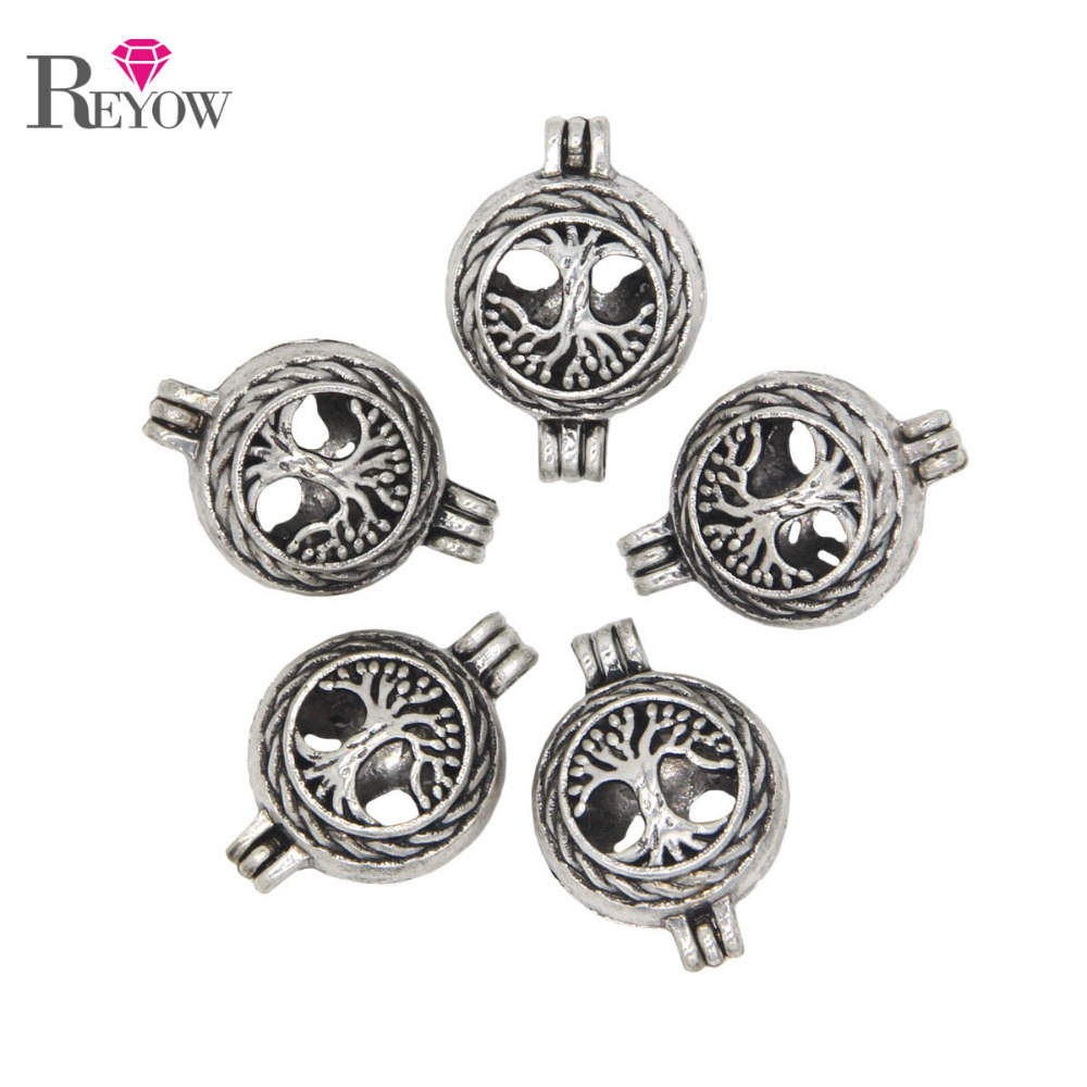 silver with life in of tree lockets necklace sterling pendant roots