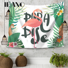 ФОТО ibano mandala tapestry home wall art hanging bohemian mandalas blanket flamingo decoration for bedroom dorm yoga mat tablecloth