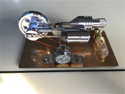 Stirling Engine Model Micro Engine External Combustion Generator Steam Engine Hobby Science Experiment Gift