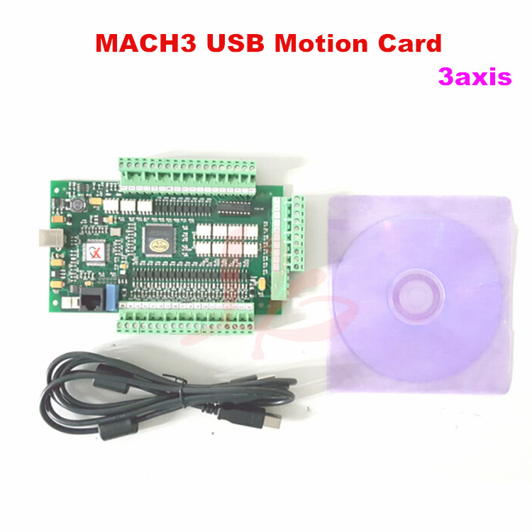CNC Mach3 Motion Control Card 3 Axis for Woodworking CNC Machine richauto a18 dsp 4 axis linkage motion control system for cnc router machine
