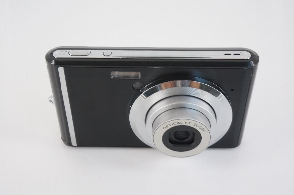 Winait 18Mp High Definition Digital Camera Mini Cam Full HD 1080P 3x Optical Zoom Face And Smile Detection