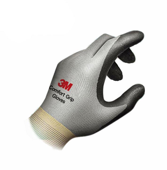 3M comfortable slip resistant wear resistant high temperature gloves gloves protective gloves industrial construction gloves high quality hand tool gloves 12 pairs 700g cotton gloves wear resistant work thick gloves against high low temperature gloves