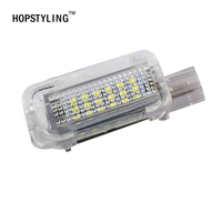 Free Shipping White LED Interior Light Footwell Trunk Boot Glove Box Lamp For Honda Accord 4D