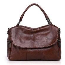 ICEV Brand new casual 100% genuine leather women handbag designer high quality boston tote bags pillow clutch messenger bag lady