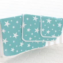 Newborn Baby Changing Pad Infant Child Bed Waterproof Cloth Diaper Inserts Crib Reusable Cotton Durable Washable Urine Mat Cover newborn baby changing pad urinal pad infant child bed waterproof cotton cloth diaper inserts changing mat for crib stroller pad
