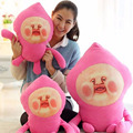 "1pcs 8"" 25cm fart doll peach Jun pillow peach farm Elf Toy Valentine's Day gift ideas birthday gift plush toys"