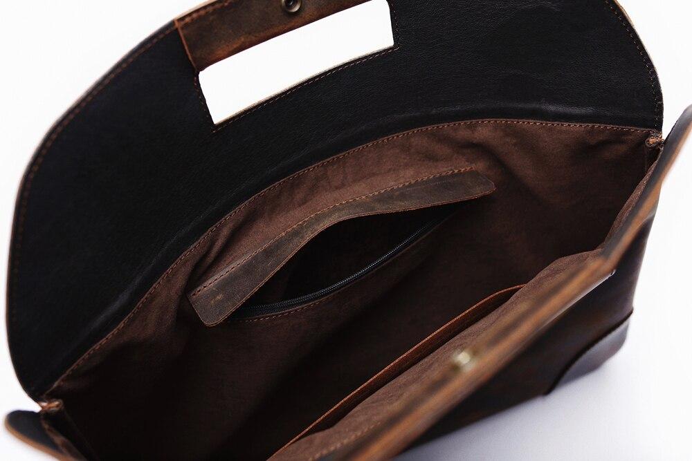 men leather briefase