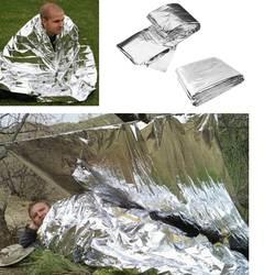 Открытый спасательное одеяло для кемпинга водостойкий аварийно-спасательный морозостойкий военный аптечка первой помощи одеяло