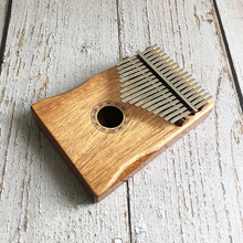 17 Key Kalimba African Solid Pine Mahogany Thumb Finger Piano Sanza Mbira Calimba Play with Guitar Wood Musical Instruments kalimba piezo pickup mbira accessories thumb piano pick up musical instruments