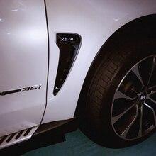 X5 F15 X5M Glossy Black Auto Car Side Fender Vent Trim for BMW F15 X5 X5M 2014-2016 китайский бутик телефонов made in china 2014 f15 w8