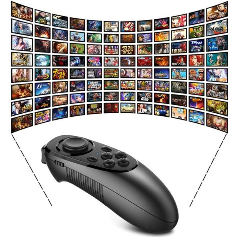 <font><b>VR</b></font> BOX Virtual Reality 3D <font><b>Glasses</b></font> <font><b>Bluetooth</b></font> <font><b>Remote</b></font> Control <font><b>Game</b></font> Wireless <font><b>Controller</b></font> Mouse For Smartphone iOS Android Wholesale
