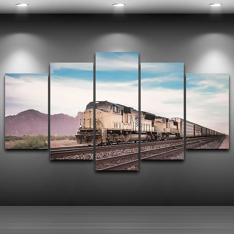 Train Wall Art popularne train wall art- kupuj tanie train wall art zestawy od