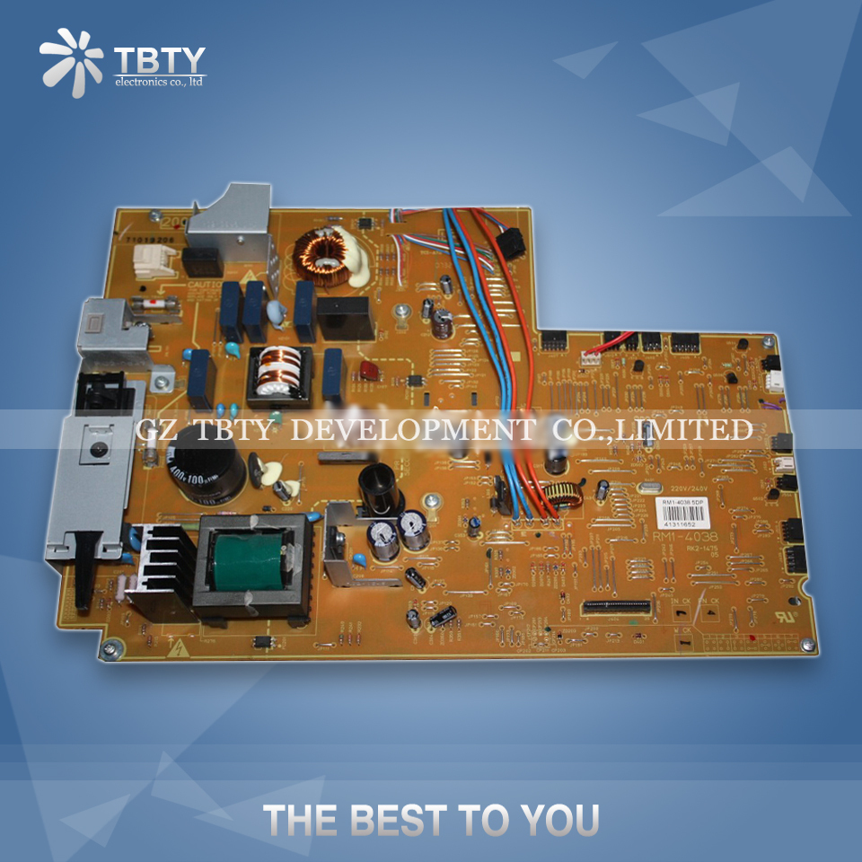 Printer Power Supply Board For HP P3005 P3005D 3005 HP3005 RM1-4038 RM1-4037 Power Board Panel On Sale printer power supply board for samsung scx 7420 scx4720 4720 power board free shipping on sale