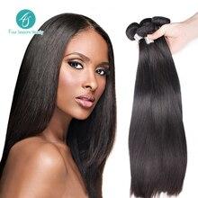 4S Malaysian Virgin Hair 7A Top Selling Natural Color Malaysian Straight Hair 3PCS Human Hair Free