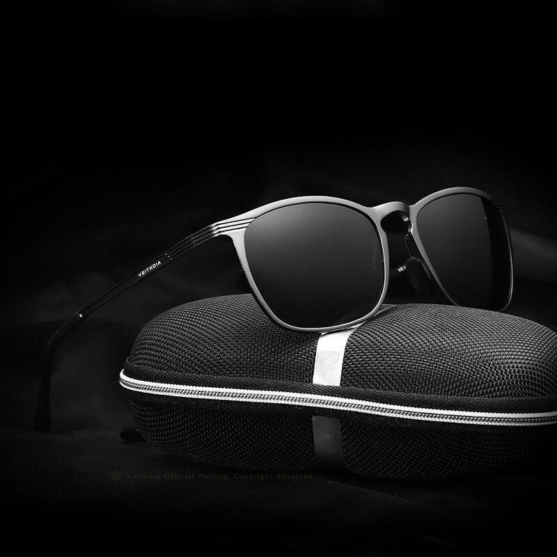 Unisex Retro Aluminum Magnesium Brand Sunglasses Polarized Lens Vintage Eyewear Accessories Sun Glasses Men Women 6630 in Men 39 s Sunglasses from Apparel Accessories