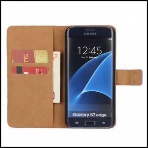 Image 5 - עור כיסוי מקרה ארנק לסמסונג גלקסי Note8 קצה S8 S7 להעיף טלפון תיק אבזר Coque לגלקסי הערה 8 S8 בתוספת 50 יח\חבילה
