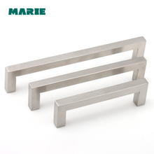 Hole Center 96-160mm Hollow Handle Stainless Steel Furniture Drawer Handles Kitchen Cabinet Cupboard Door Knobs Pull
