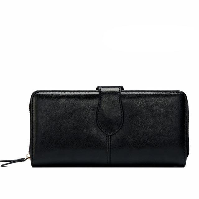 Fashion Women Clutch Leather Women Wallets Famous Brand Zipper Long Wallet Women Envelope Bags Evening Bag Handbags