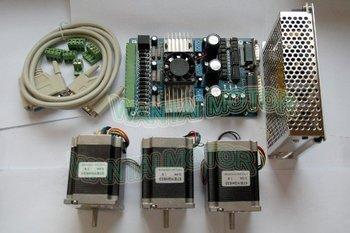 Kit Mulino Cnc | Vendita Calda! Wantai CNC Nema 23 Stepper Motor 57bygh603 1A 3 Once-Axis Bordo Di Driver TB6560 Schiuma Laser Mill Engraver Kit