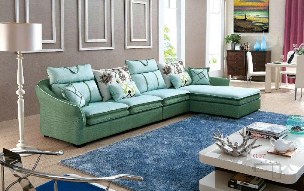 2016 Chaise Beanbag Sofas For Living Room European Style