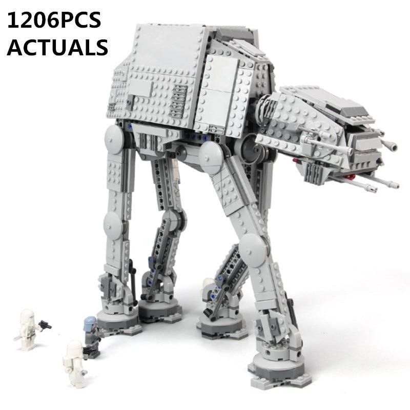 2018 Lepin 05051 Star War Series Force Awaken The AT-AT Transpotation Armored Robot Building Blocks Bricks Compatible legoed diy victorian america and the civil war