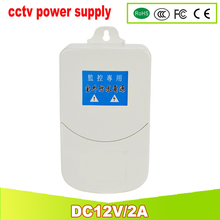YUNSYE Power Supply For CCTV Monitor Television Video DC12V 2A power supply