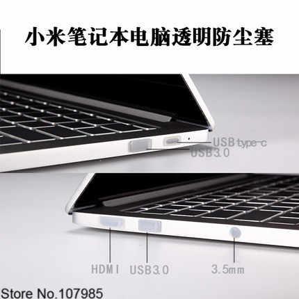 Ốp Cắm Chống Bụi Bảo Vệ Cho Xiao Mi Mi Notebook Air 12 13 Pro 15 Laptop 12.5 13.3 15.6 inch bụi Cắm Cổng