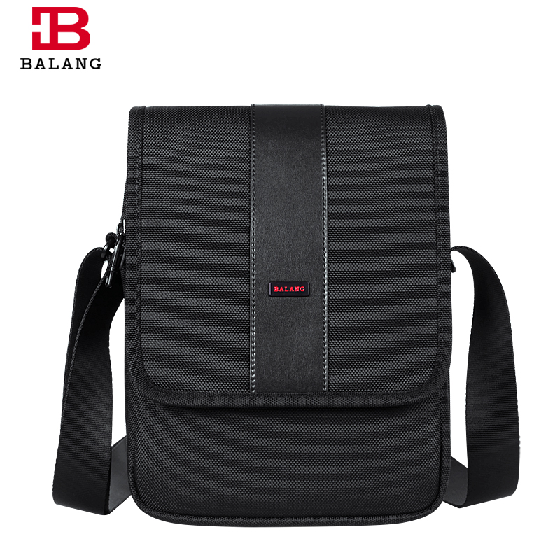 ФОТО BALANG Brand Waterproof Nylon Briefcase Black Men Business Cross-body Bag Oxford Casual Laptop Messenger Bags High Quality