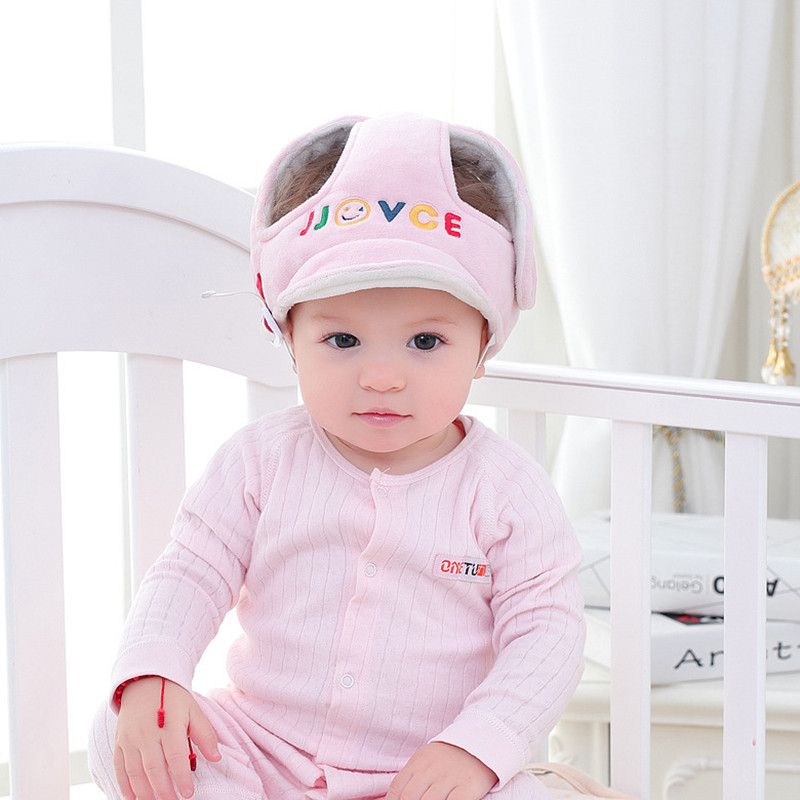 4469437cbd288 Details about 1pc Baby Kid Anti-fall Head Protection Hat Infant Toddler  Safety Helmet Headgear