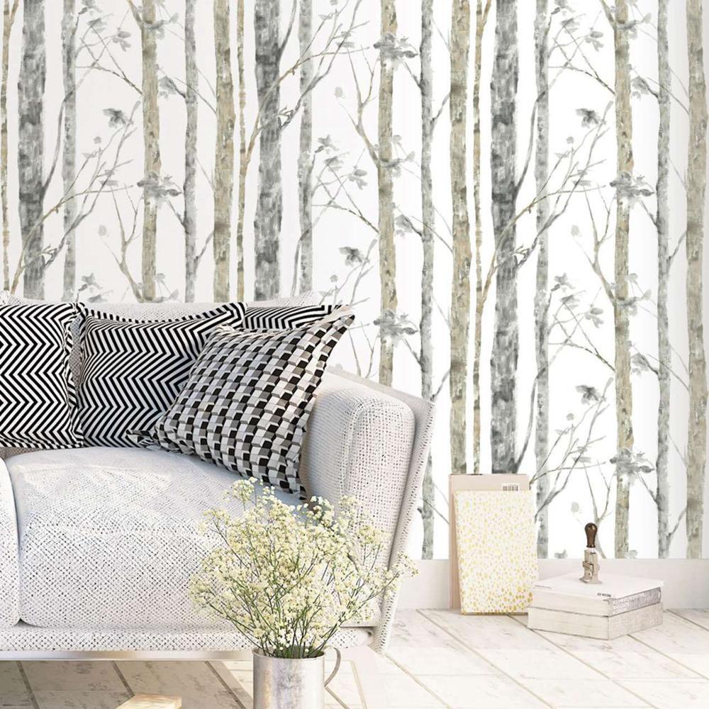 Nordic Birch Trees Scandinavian Wallpaper All Kinds Of Birch Trees