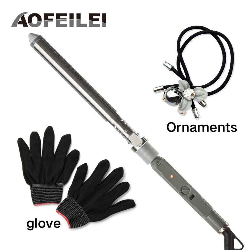 2018 Promotion Hair Curler Electric Ceramic Curling Irons Heating Fast Beach Waver Machine Aofeilei Pro Curlers Rollers Wand 2017 new rushed professional hair curling iron ceramic electric curler waver curlers rollers wand aofeilei styler styling tools