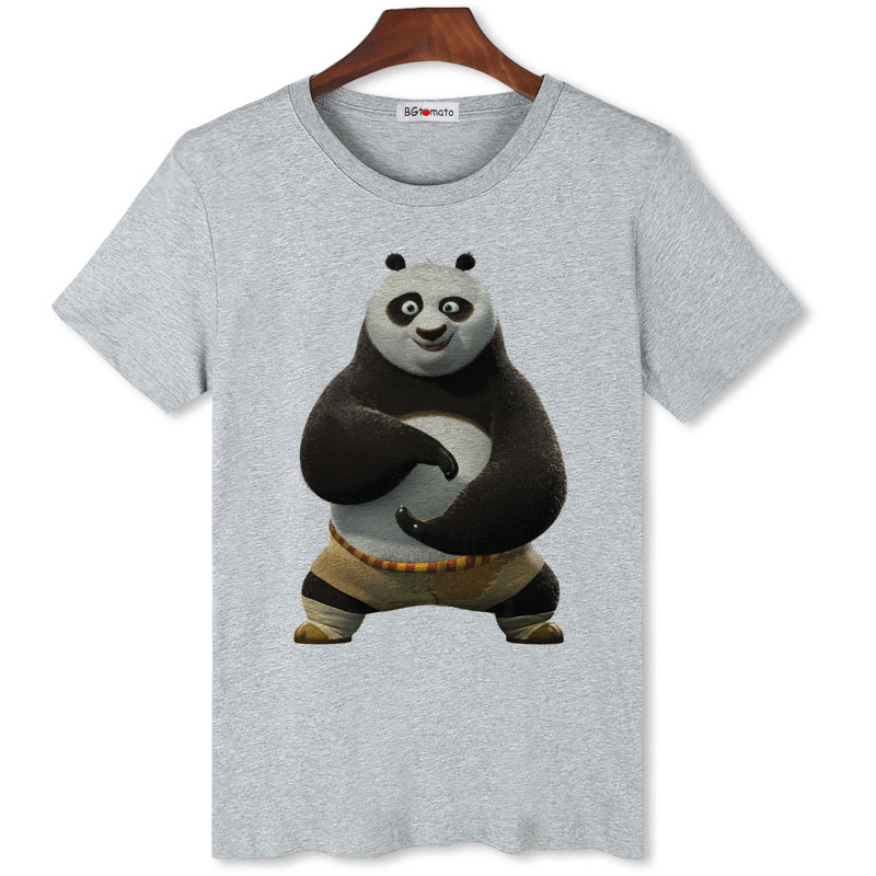 539cc43d89c1 BGtomato famous kungfu Panda TaiChi t shirt men New arrival fashion 3D  cartoon shirt Brand good quality modal tops shirts