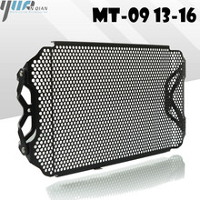 MT 09 fz09 13 16 Black Motorbike Radiator Guard Protector Grille Grill Cover For YAMAHA fz 09 mt 09 13 16 MT 09 FZ09 2013 2016