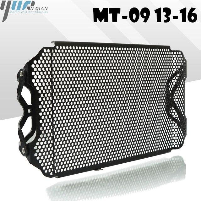 MT 09 fz09 13 16 Siyah Motosiklet Radyatör Guard Koruyucu Izgara ızgara kapağı YAMAHA fz 09 mt 09 13 16 MT 09 FZ09 2013 2016