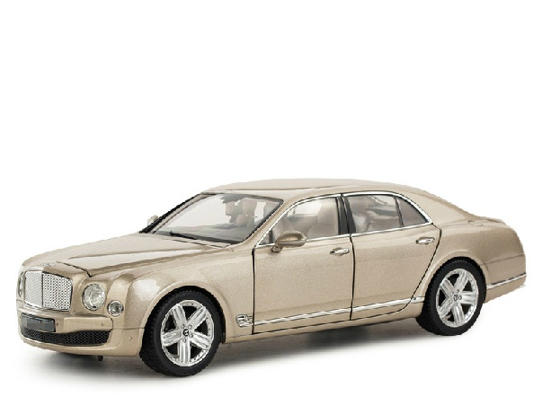 New rastar alloy cars model 1:18 diecast metal car model car toy  golden color models car as gift for children free shipping  цена