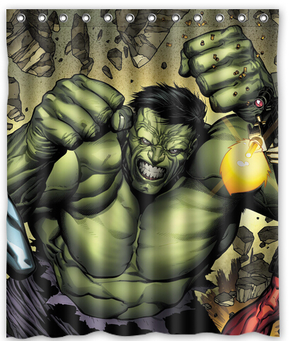Dos Desenhos Animados Vingadores Super Herois Hulk Impresso