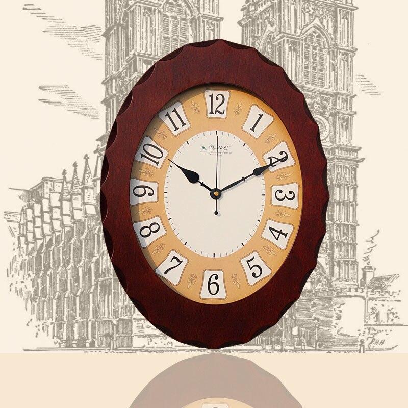 Saat Uhr Holz Wanduhr Reloj Relogio De Parede Duvar Saati Horloge Murale Decorativo